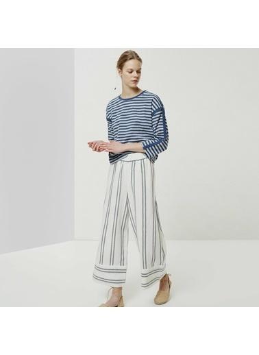 Yargıcı Kadın Beli Lastikli Pantolon 0YKPN3101X Lacivert